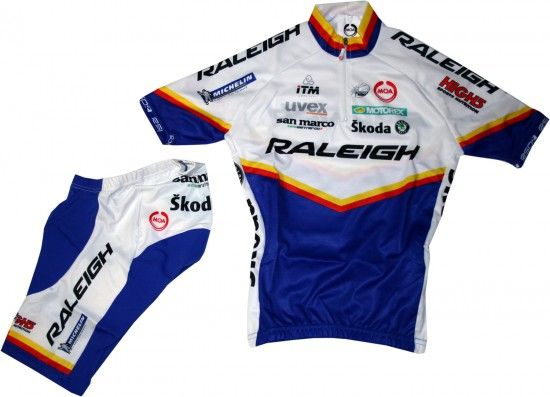 Nalini Raleigh 2011 Cycling Set For Kids (Jersey, Trousers) - Professional Cycling Team