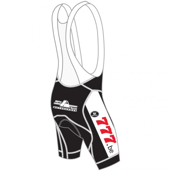 Vermarc Steylaerts - 777 2019 Cycling Bib Shorts - Professional Cycling Team