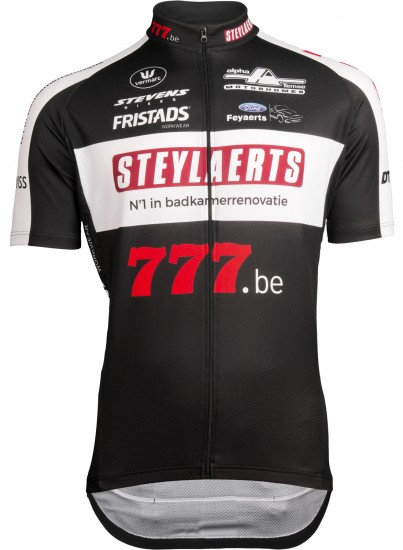 Vermarc Steylaerts - 777 2019 Short Sleeve Cycling Jersey (Long Zip) - Professional Cycling Team