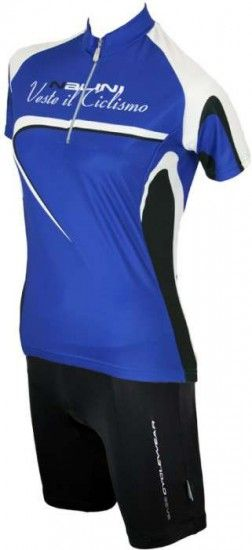 Nalini Sassolite Blue - Base Tricot / Jersey For Ladies With Short Sleeves