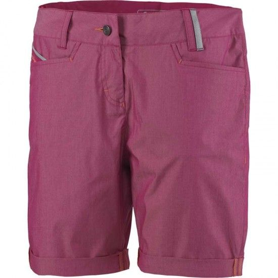 Scott Denim Womens Shorts Plum Violet (E17)