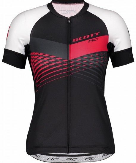 Scott Rc Pro Womens Short Sleeve Cycling Jersey Black/Azalea Pink (270517)