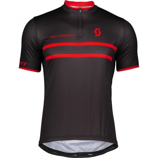 Scott Rc Team 20 Short Sleeve Cycling Jersey Black/Red (270456)