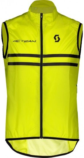 Scott Rc Team Cycling Gilet Yellow Fluo/Black (270460)
