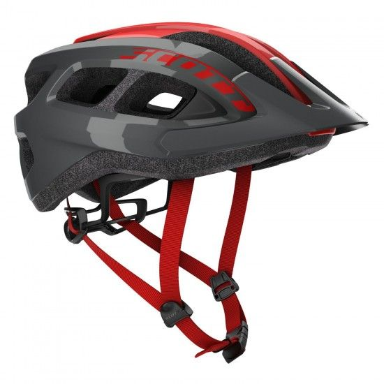 Scott Supra Cycling Helmet Grey/Red (249287)