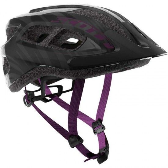 Scott Supra Womens Cycling Helmet Black/Violet (249287)