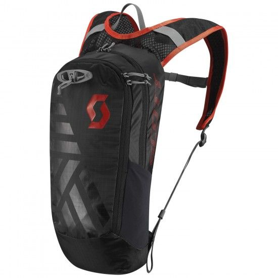 Scott Trail Lite Fr 8 Bag Pack Caviar Black/Fiery Red (250020)