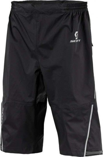 Scott Trail Mtn Dryo Plus Rain Shorts Caviar Black