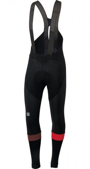 Sportful Bodyfit Pro Cycling Bib Tights Black/Red