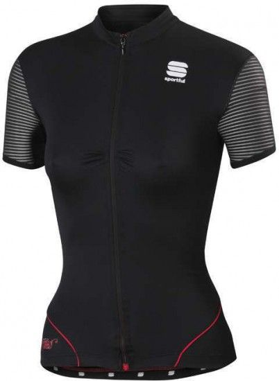 Sportful Charm Short Sleeve Jersey For Ladies Black