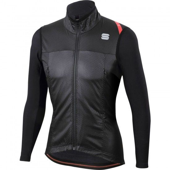 Sportful Fiandre Strato Wind Jacket Windproof Cycling Jacket Black