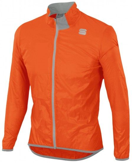 Sportful Hot Pack Easylight Windproof Cycling Jacket Orange