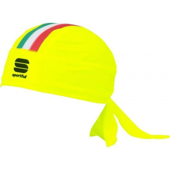 Sportful Italia Cycling Bandana Neon Yellow
