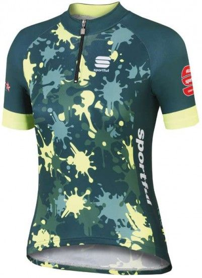 Sportful Mgf 15 Kids Short Sleeve Jersey Camouflage