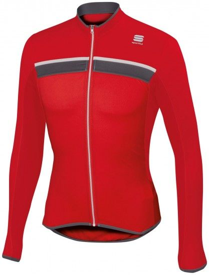 Sportful Pista Long Sleeve Cycling Jersey Red