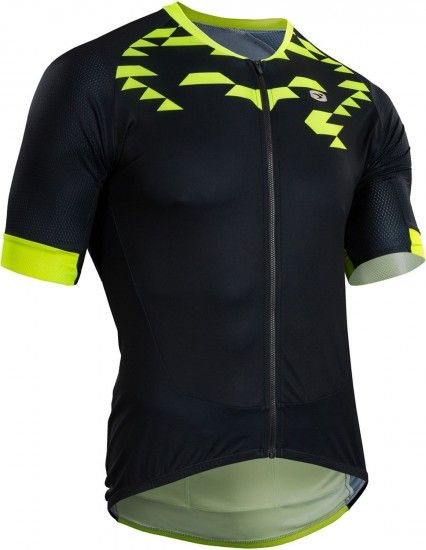 Sugoi Rs Training Short Sleeve Cycling Jersey Black/Yellow (E18)
