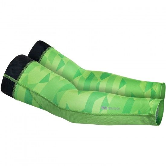 Sugoi Zap Arm Warmers Green (E18)