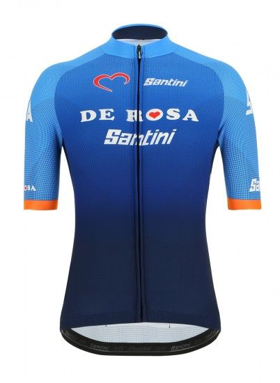 Santini Team De Rosa 2019 Short Sleeve Cycling Jersey - Professional Cycling Team