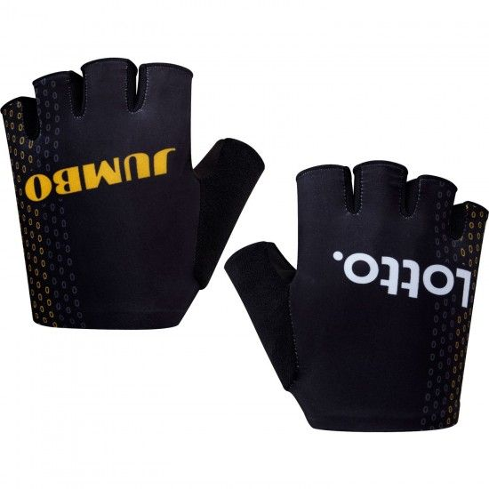 Shimano Team Lotto Nl - Jumbo 2018 Short Finger Cycling Gloves - Professional Cycling Team