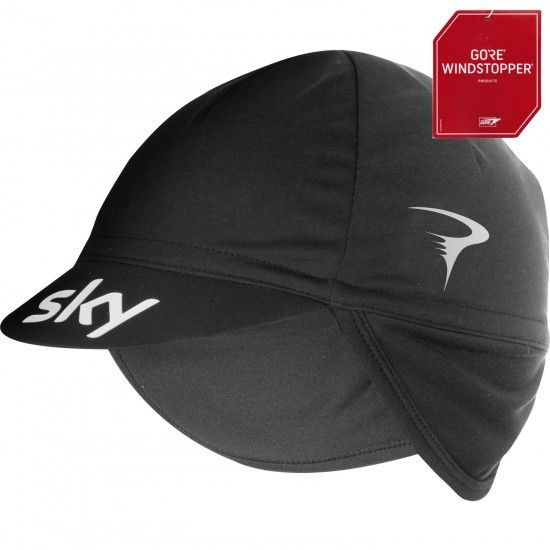 Castelli Team Sky 2019 Difesa2 Winter Hat - Professional Cycling Team