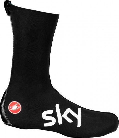 Castelli Team Sky 2019 Diluvio Pro 2 Neoprene Overshoes - Professional Cycling Team