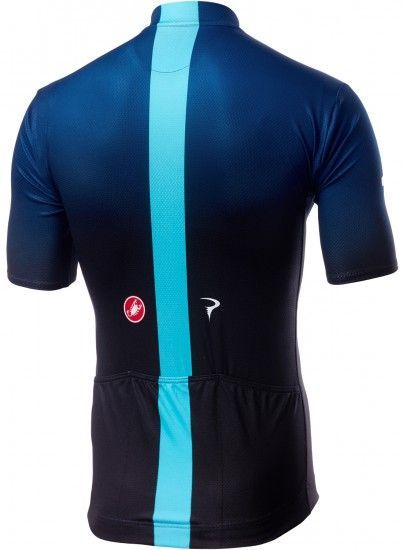Castelli Team Sky 2019 Fan Set - (Jersey Long Zip + Strap Trousers) - Professional Cycling Team