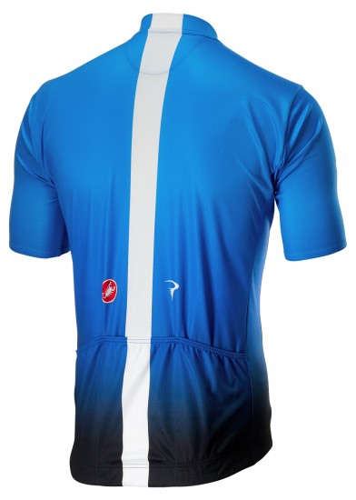 Castelli Team Sky 2019 Fan Training Edition Set - (Jersey Long Zip + Strap Trousers) - Professional Cycling Team
