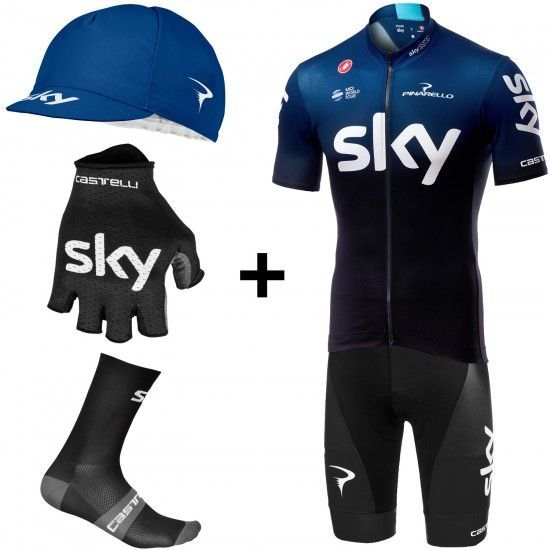 Castelli Team Sky 2019 Fan Super Set