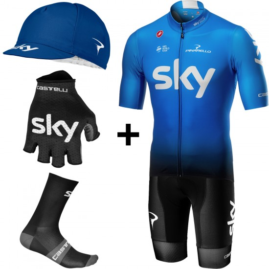 Castelli Team Sky 2019 Fan Training Edition Super Set
