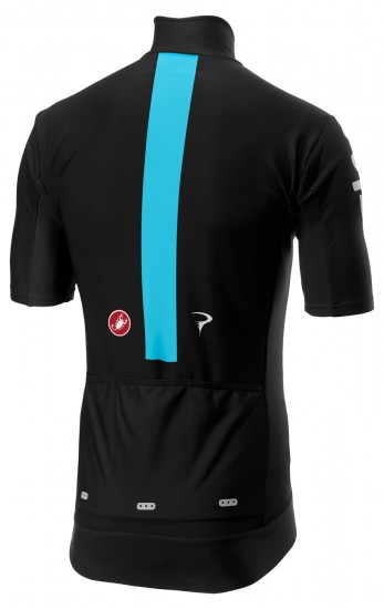 Castelli Team Sky 2019 Gabba 3 All Weather Cycling Jersey (Long Zip) - Professional Cycling Team