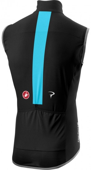 Castelli Team Sky 2019 Perfetto Wind/Rain-Vest - Professional Cycling Team