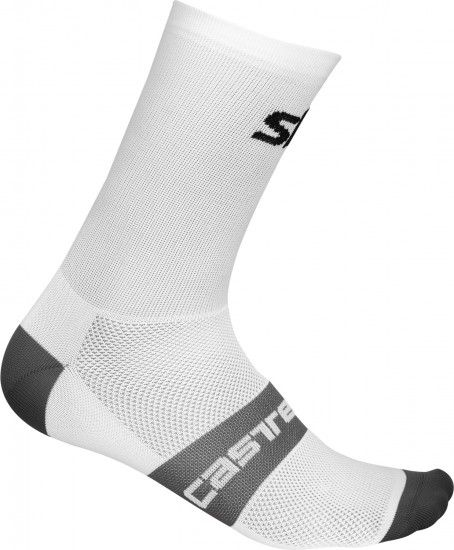 Castelli Team Sky 2019 Cycling Socks White - Professional Cycling Team