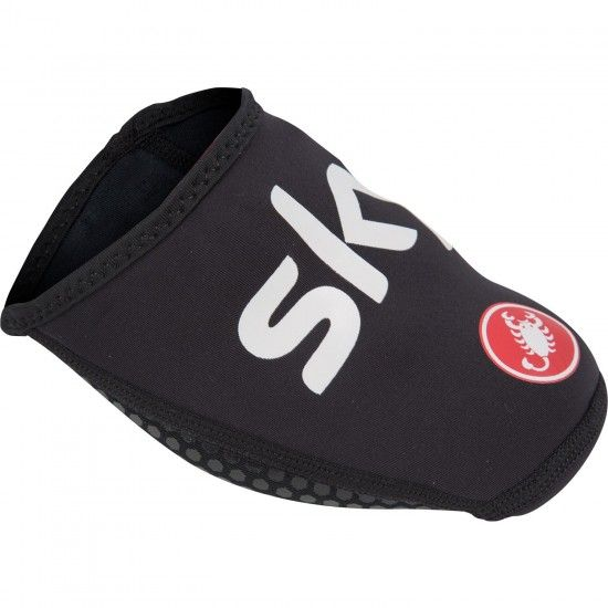 Castelli Team Sky 2019 Toe Cover Black - Professional Cycling Team