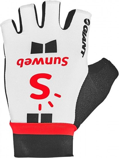 Giant Team Sunweb 2018 Short Finger Cycling Gloves - Professional Cycling Team