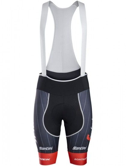 Santini Trek - Segafredo 2018 (Rsl) Cycling Bib Shorts - Professional Cycling Team