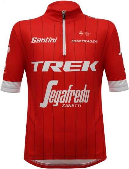Santini Trek - Segafredo 2018 Kids Short Sleeve Jersey - Professional Cycling Team