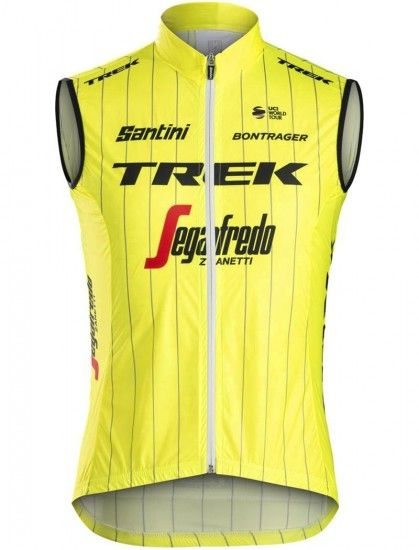 Santini Trek - Segafredo 2018 Training Edition Cycling Gilet - Professional Cycling Team