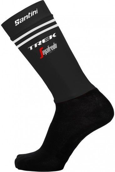 Santini Trek - Segafredo 2019 Aero Cycling Socks - Professional Cycling Team