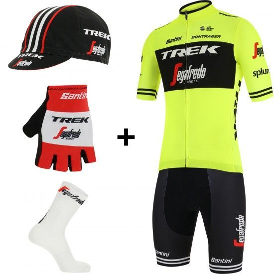 Santini Trek - Segafredo 2019 Training Edition Super Set