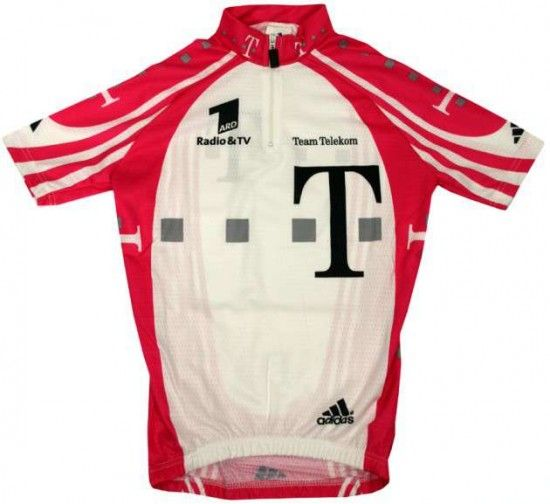 Adidas Telekom Professional Cycling Team - Cycling Jersey For Kids