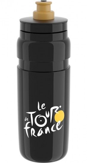 Elite Tour De France Water Bottle 750 Ml Black