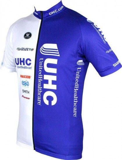 Vermarc Unitedhealthcare 2016 Short Sleeve Jersey (Long Zip) - Professional Cycling Team