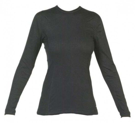 Vangard Ladies Long Sleeve Shirt - 2509 Black - Functional Underwear