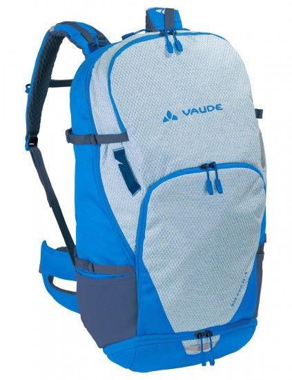 Vaude Bike Alpin 25+5 Cycling Backpack Blue/White (Radiate Blue)