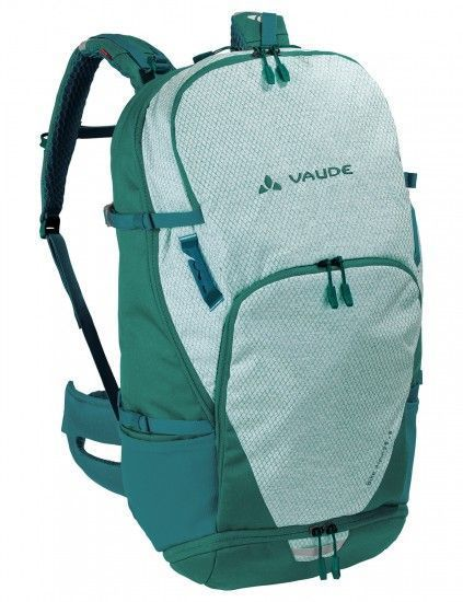 Vaude Bike Alpin 25+5 Cycling Backpack Green (Petroleum)
