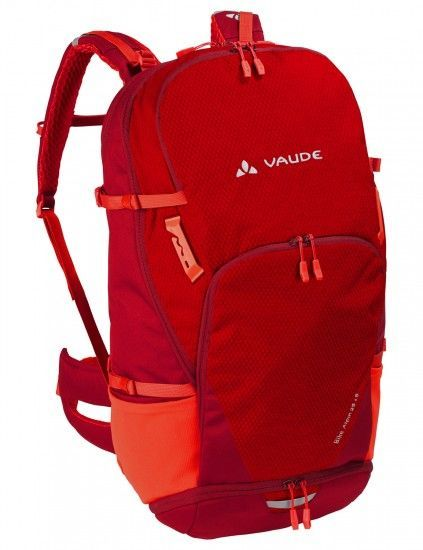 Vaude Bike Alpin 25+5 Cycling Backpack Red (Salsa)