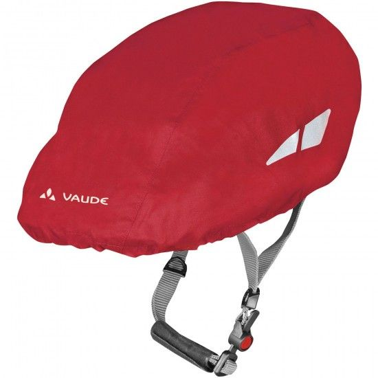 Vaude Helmet Raincover Red (Indian Red)