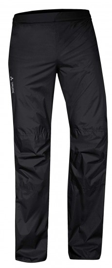 Vaude Men Drop Pants Ii Cycling Overtrousers Black