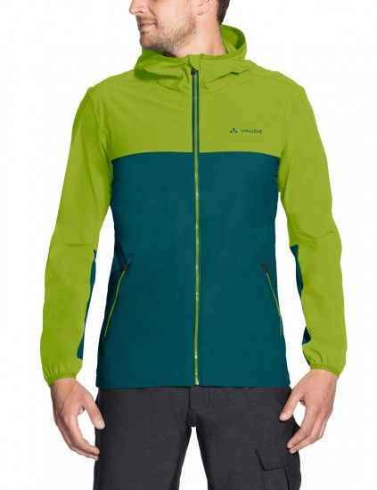 Vaude Men Moab Jacket Iii Softshell Cycling Jacket Green (Petroleum)