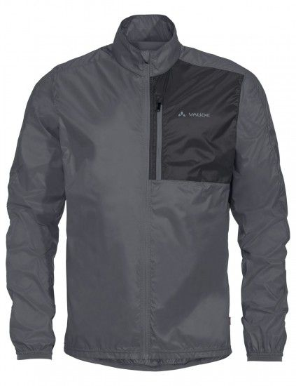 Vaude Men Moab Ul Jacket Ii Windproof Cycling Jacket Grey (Iron)